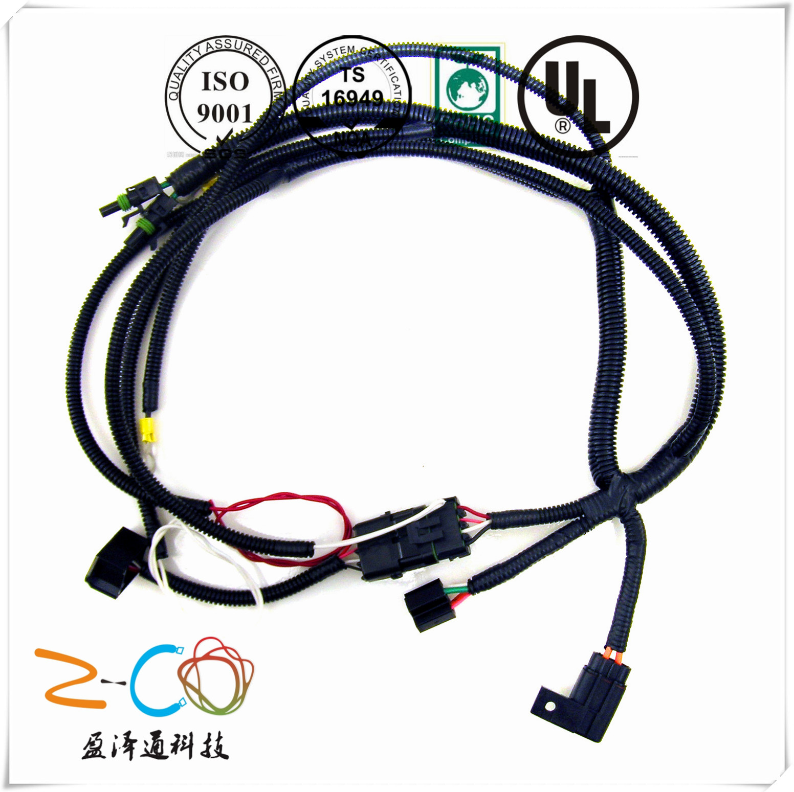 Good quality wire harness and cable assembly manufacturer from China: Z-Co  technology  Products Center